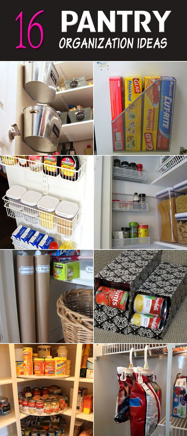 16 Pantry Organization Ideas You Don't Want To Miss  Organization Gorgeous Kitchen Organization Ideas Decorating Design