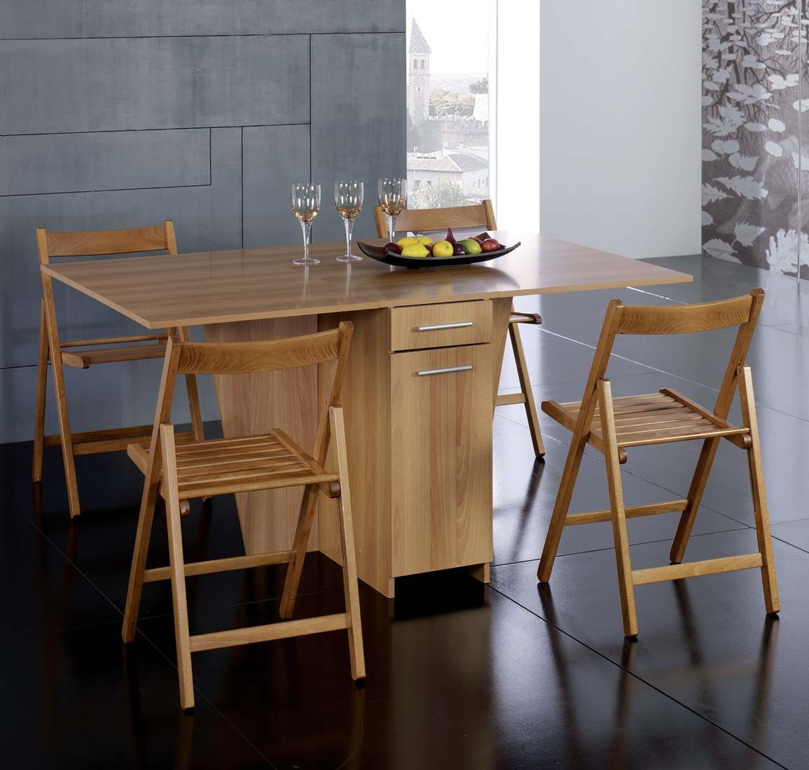 Table A Rabat Et Chaises Pliantes Table A Rabat Table Pliante Table De Cuisine Pliante