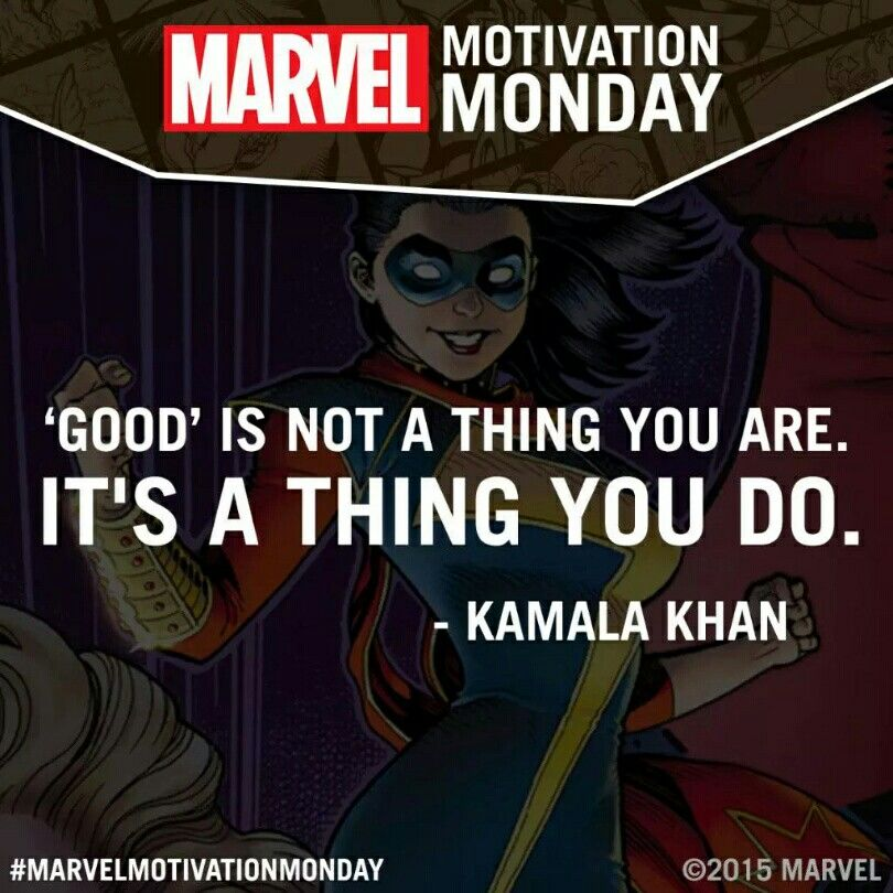 Graphicdesign Books: Marvel Motivation Monday: Kamala Khan