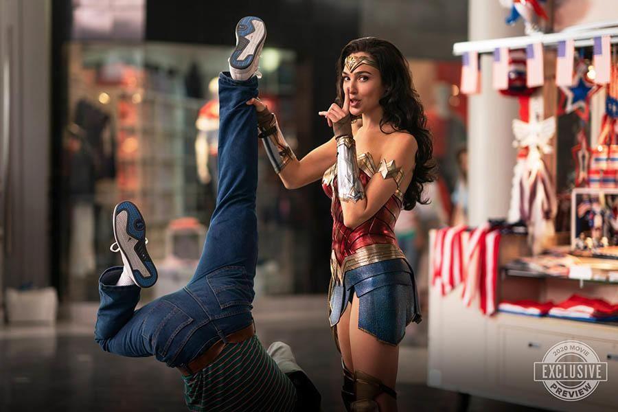 Wonder Woman 1984 2020 Trailer Tease Gal Gadot Swings Into Action The Full Trailer Drops Sunday By Warner Bros Filmbook Wonder Woman Gal Gadot Women