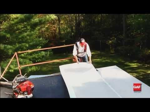 How To Install Gaf Liberty Low Slope Roofing System Youtube Roofing Installation Roofing Systems