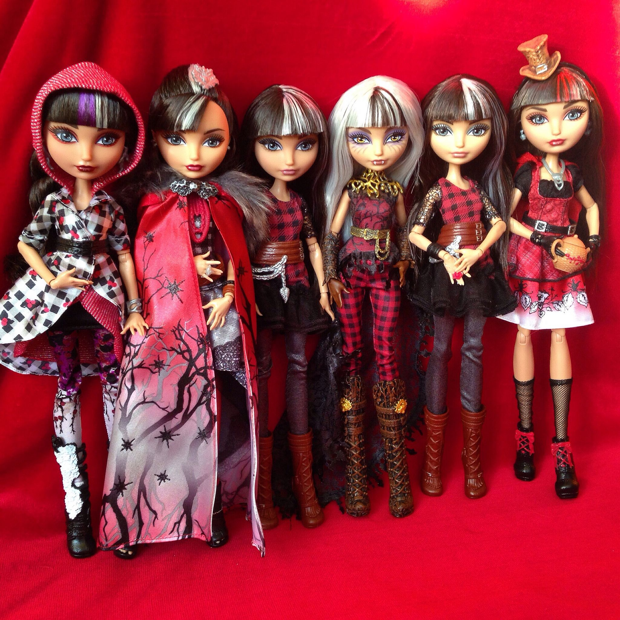 ever after high cerise hood (wolf)