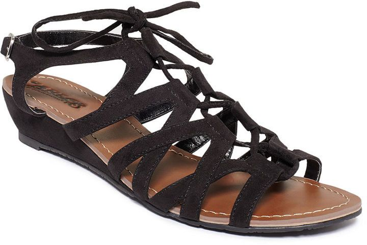 0f95e425c Black Suede Gladiator Sandals by Carlos by Carlos Santana. Buy for  59 from  Macy s
