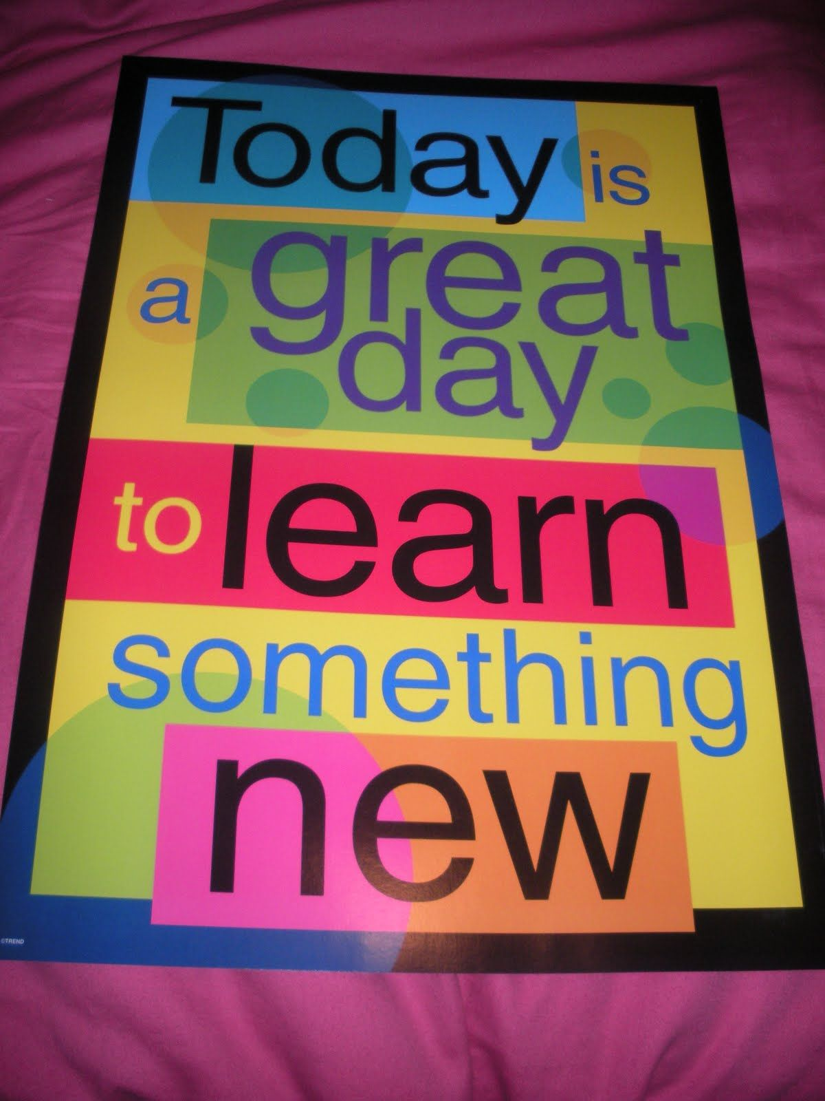 Classroom Motto Ideas ~ Class motto do you have one for the new school year