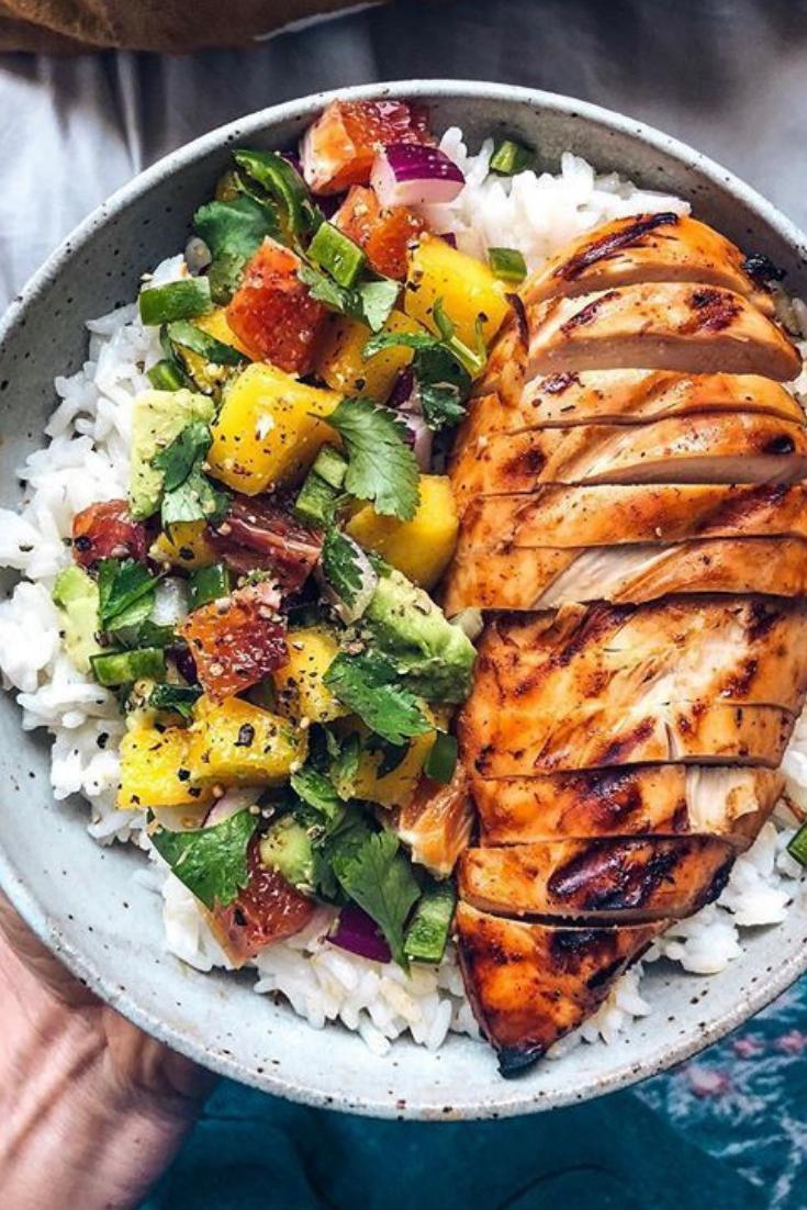 Idée Plat éQuilibré Healthy | Manger sainement recette, Idée repas équilibré, Recettes