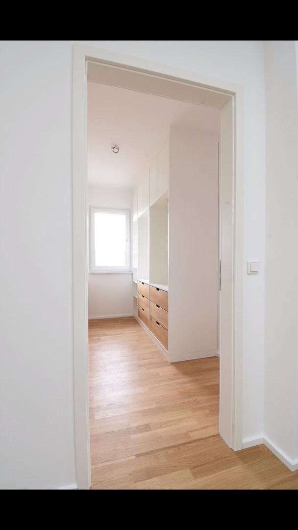 Narrow Walk-in Closet Design & Ideas