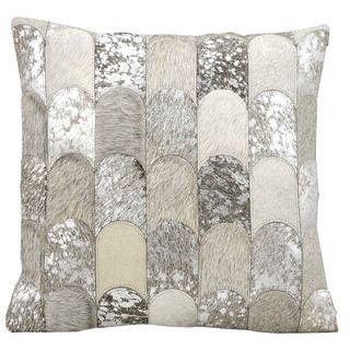 shop for kathy ireland lady fingers silvergrey throw pillow 20inch x