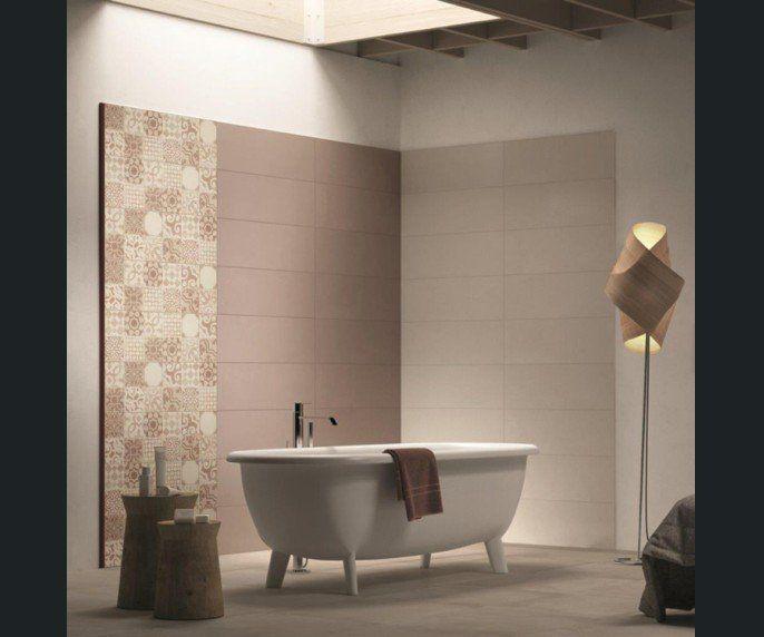 Salle de bains Blanc/beige/naturel Brun/marron PREMIUM. Leroy Merlin ...