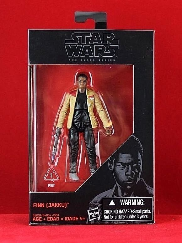 Finn Jakku STAR WARS THE BLACK SERIES B5007 Hasbro
