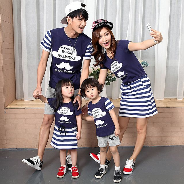 e4c92fa578900 $7.31 & Free Shipping 】Casual Family Matching Outfits Clothes ...