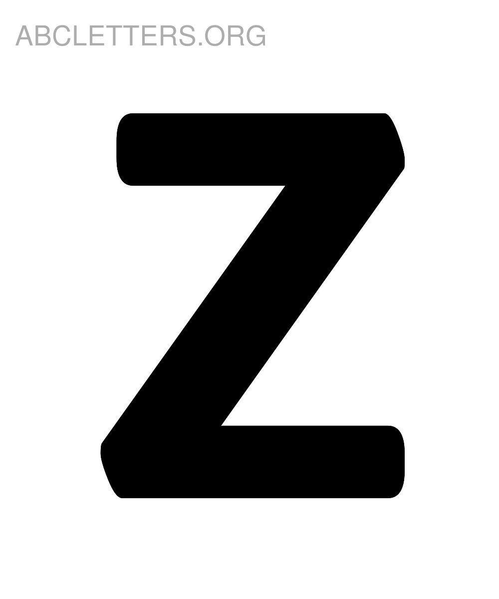 Z letters a printable alphabet Printable Alphabet