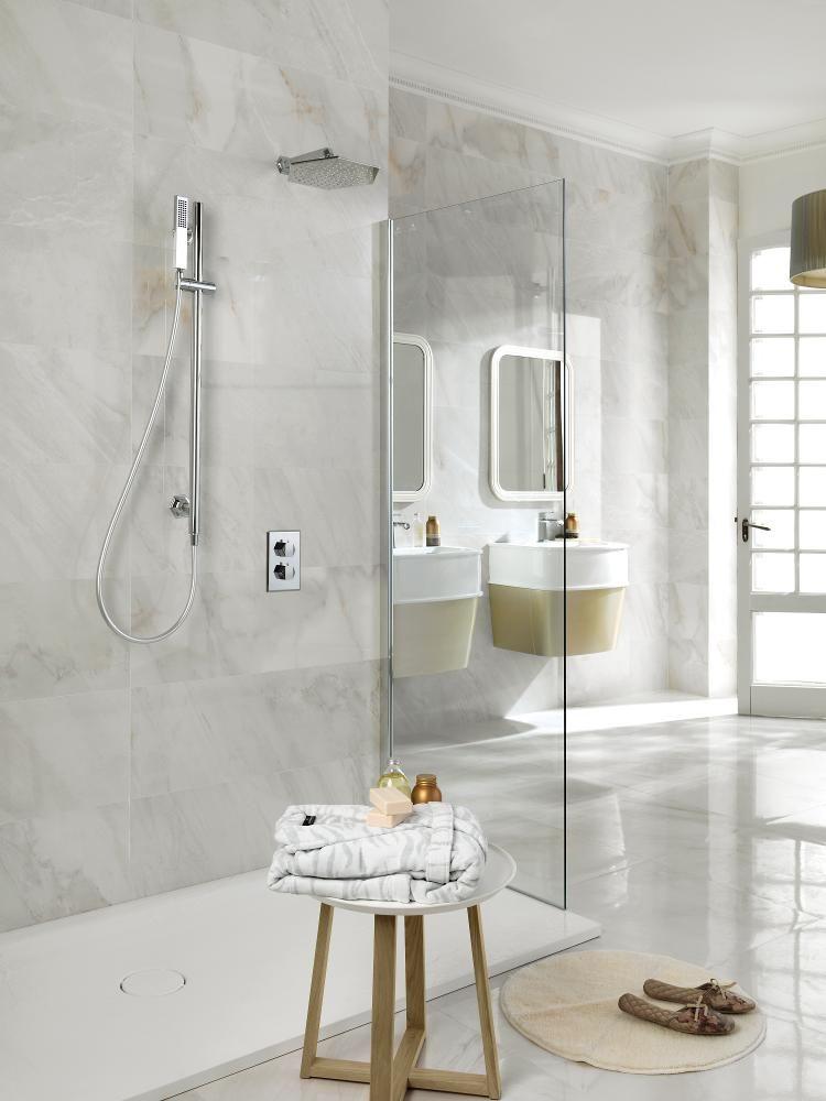 PORCELANOSA Grupo  Ceramic Tiles  Bari Blanco 316x90