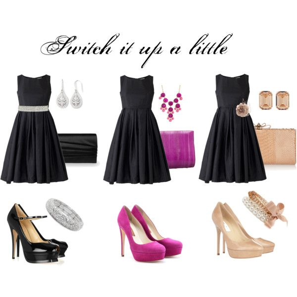 How To Dress Up A Black For Wedding Gallery Switch It Evening Attire Lbd And