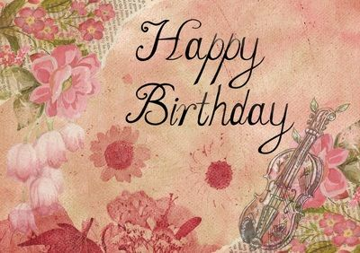 Free happy birthday cards vintage gif and clip art artsy bee free happy birthday cards vintage gif and clip art artsy bee digital images bookmarktalkfo Image collections