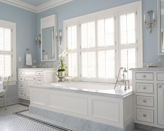 Wainscoting Around Tub Design, Pictures, Remodel, Decor and Ideas
