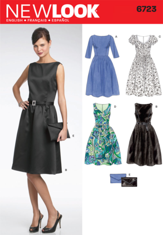 New Look Pattern: NL6723 Misses Dress — jaycotts.co.uk - Sewing ...