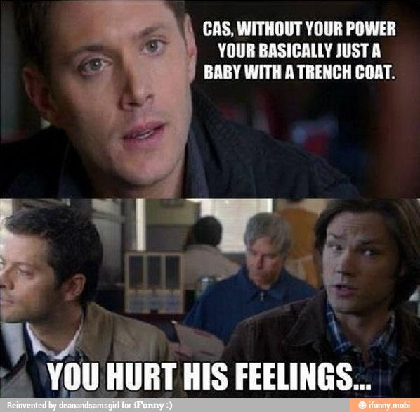 Supernatural Sam and dean Winchester castiel / iFunny ... Supernatural Sam And Dean Funny Moments