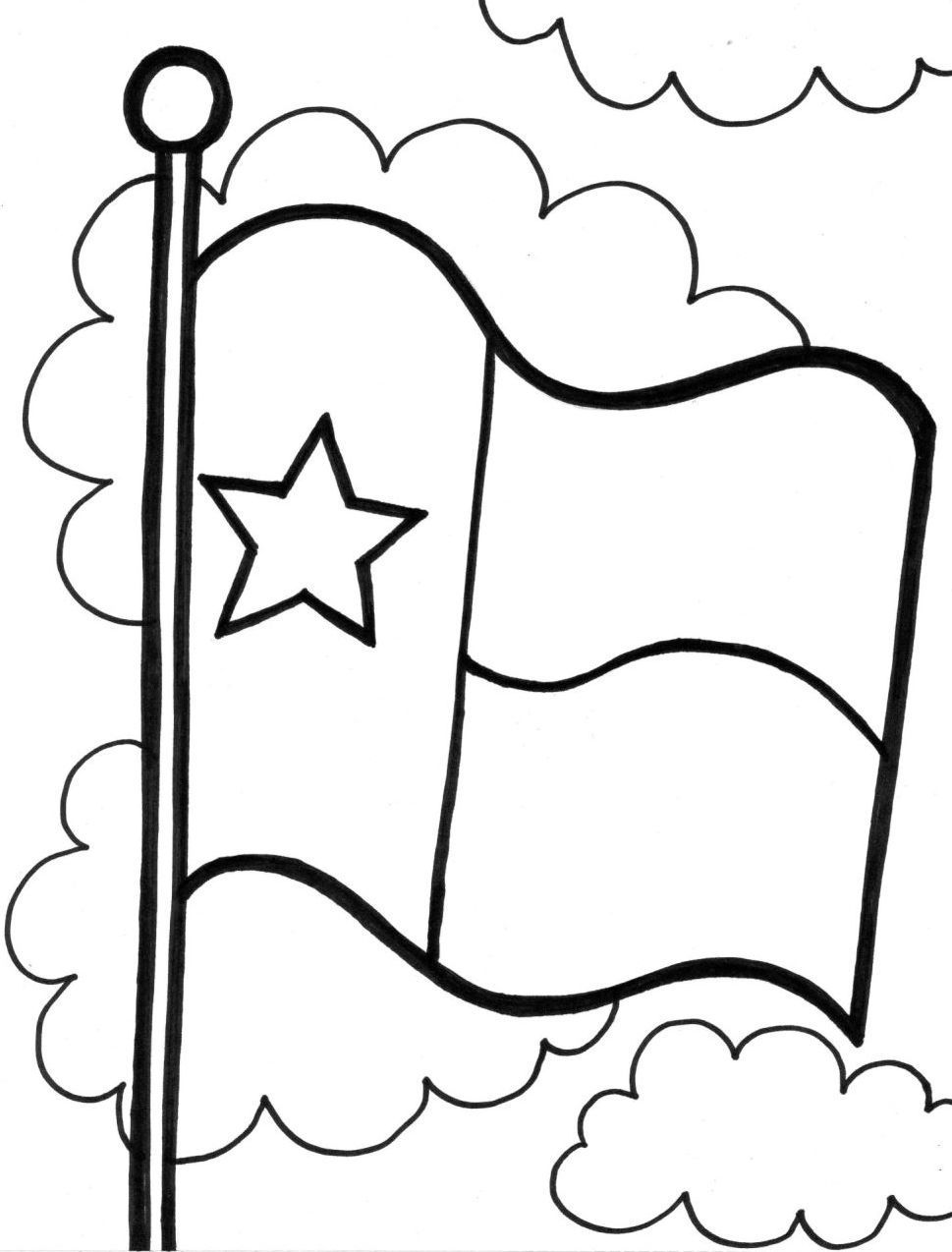 Flag coloring pages image by Linda Raymer on TEXAS my