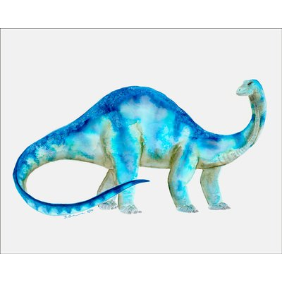 Dinosaur Portrait - T Rex Canvas Art