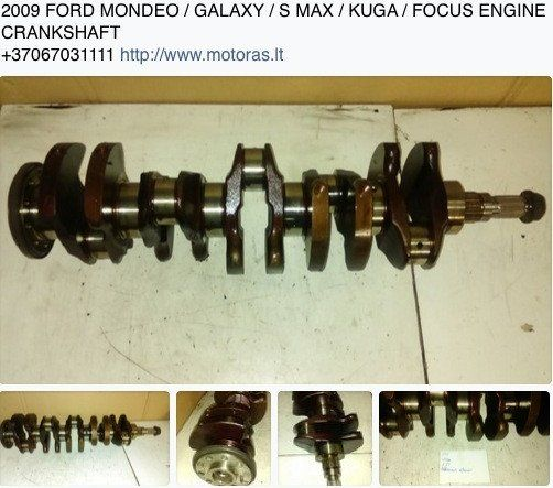 Crankshaft Ford 2 5 Turbo Engine Code Hyda Huba Huwa
