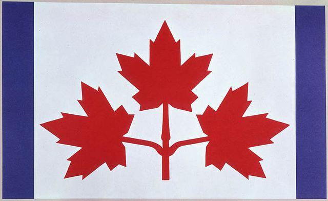 Design Proposal For The New Canadian Flag Featuring Three Maple Leaves Duncan Cameron Motif Proposé Pour Le Nouveau Drapeau Canadien Avec Trois Feuilles D Maple Leaf Art Flag National Flag