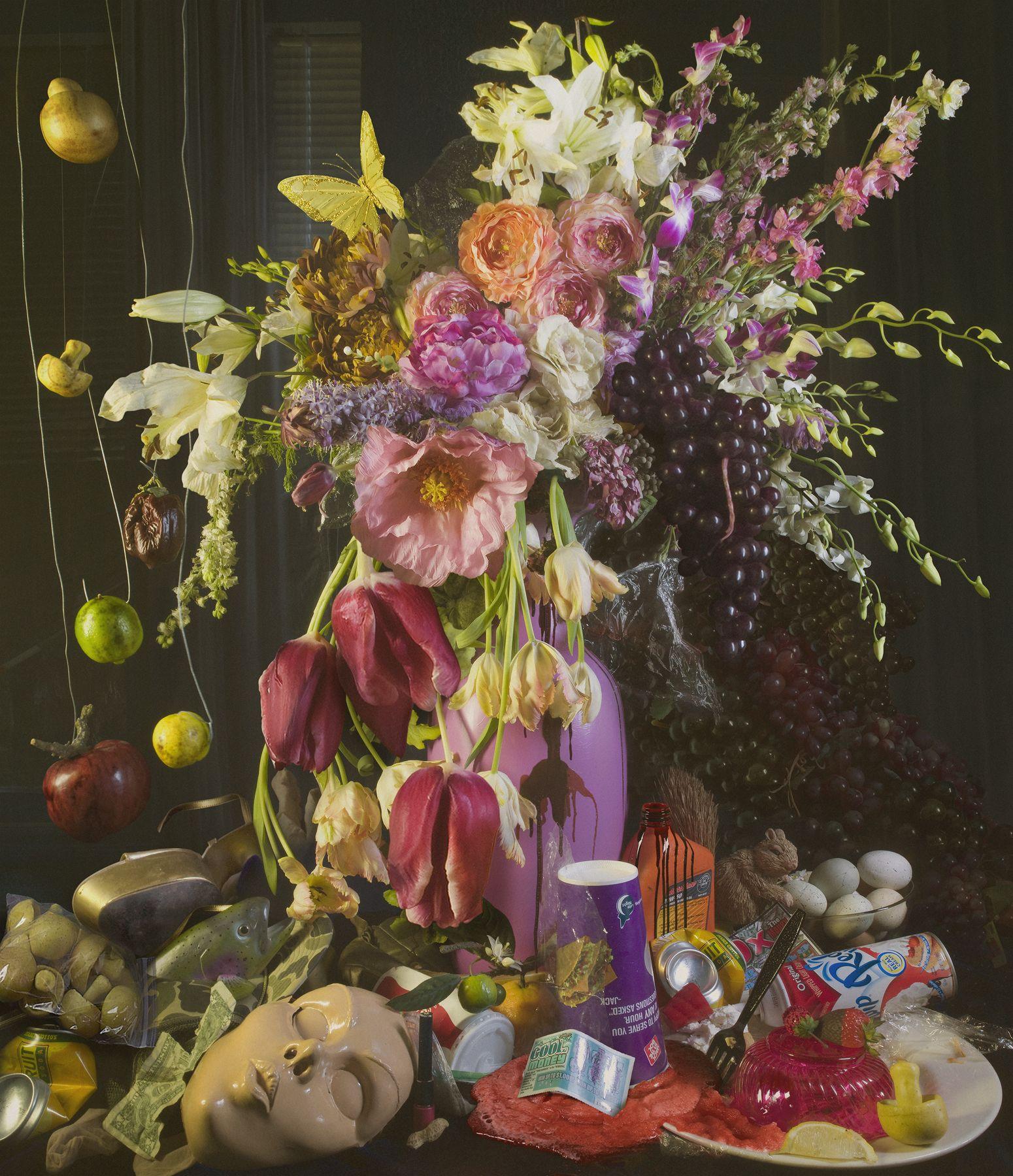 David LaChapelle flowers