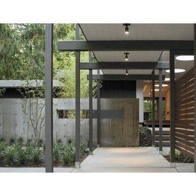 Modern Covered Walkways Home Ideas Worth Pinning Modern Exterior Entrance Design Mid Century Modern House