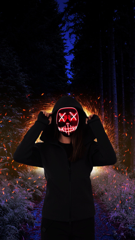 Pin Em Mask Murder