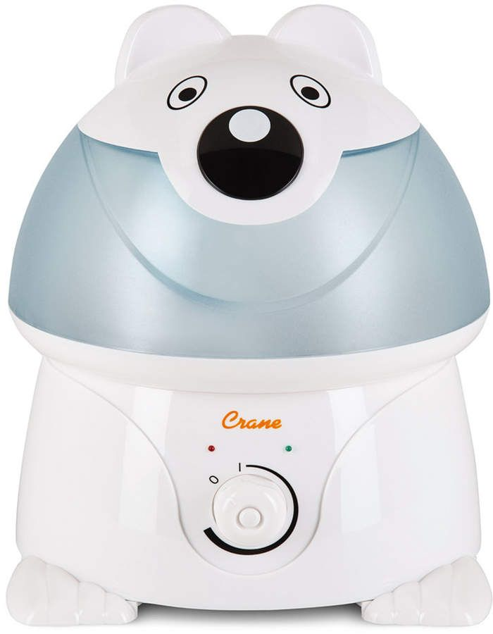 Crane's Personal Blue & White Humidifier Features