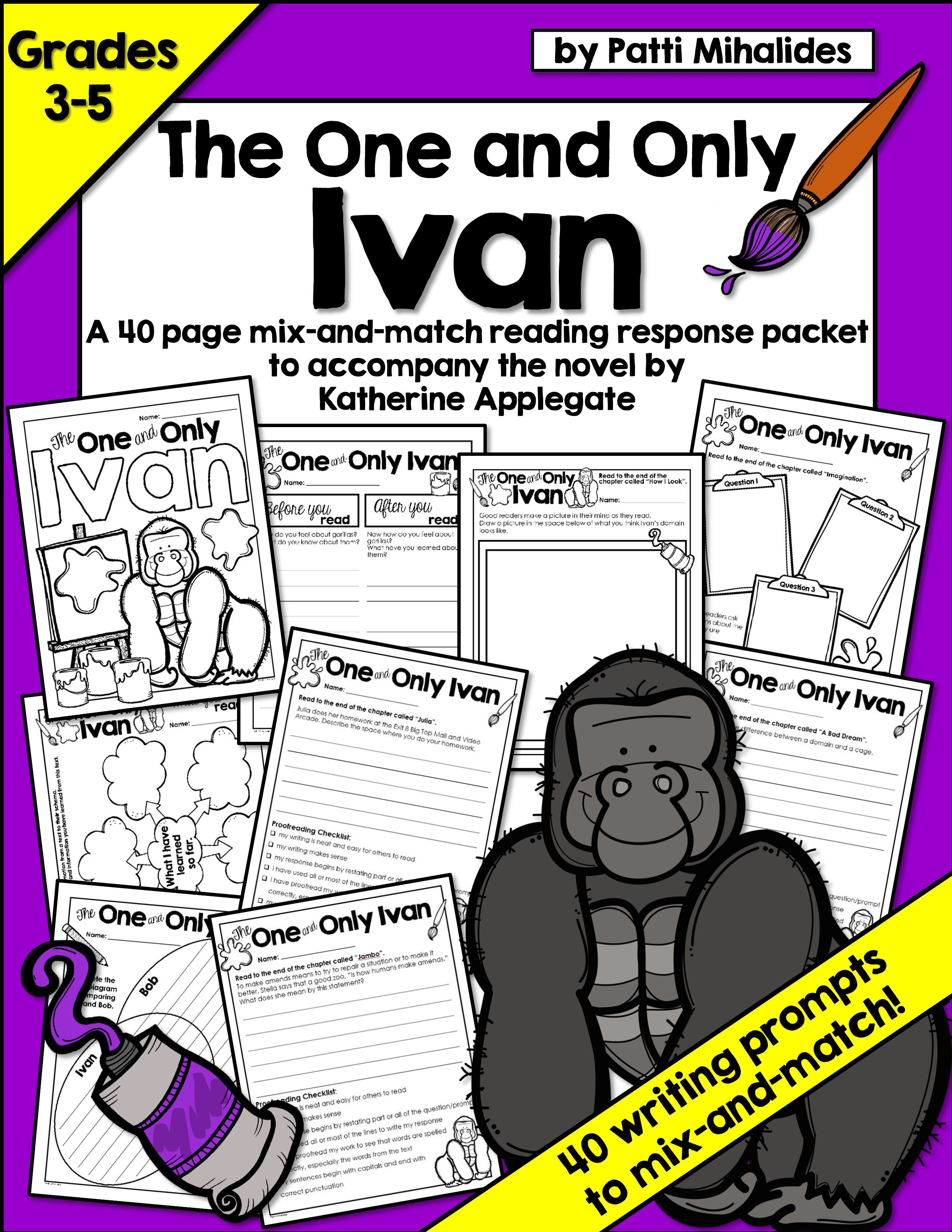 The One And Only Ivan Coloring Pages