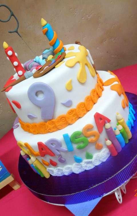Superb Arts Crafts Birthday Party Ideas Birthday Party Cake Birthday Funny Birthday Cards Online Necthendildamsfinfo