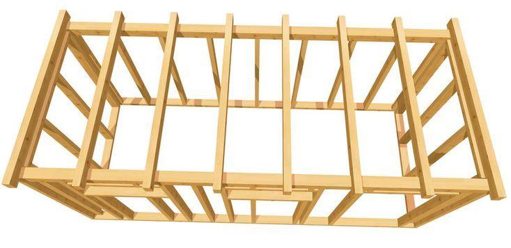 Gartenhaus günstig selber bauen! holzbauplan.de