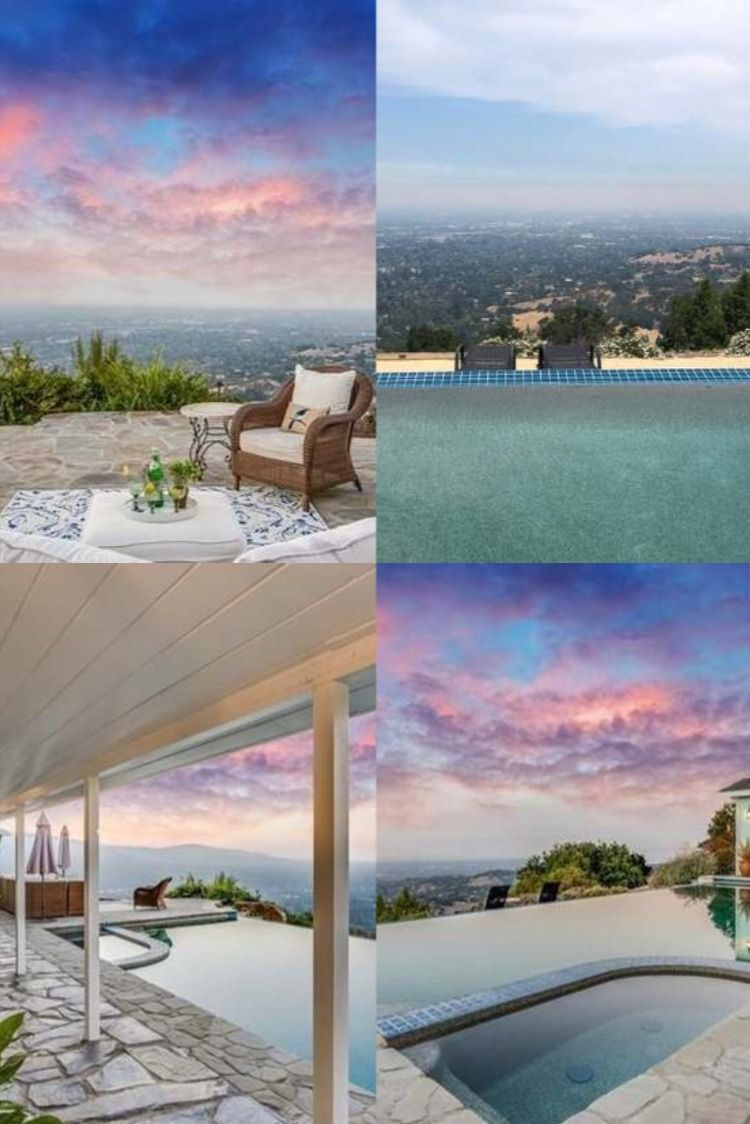 Pool & View Los Gatos in 2020 Beautiful pools, Pool