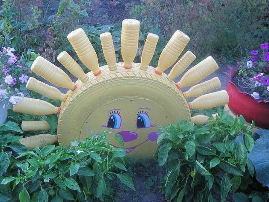 ideas para tu jardn con neumticos - Garden Ideas Using Tyres