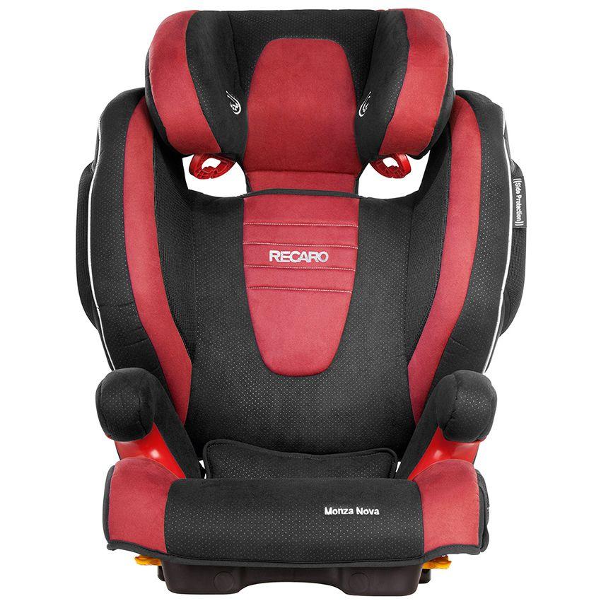 The multi stage RECARO Monza Nova 2 Seatfix car seat. Key features