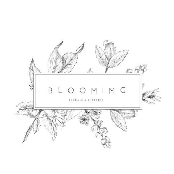 Premade Logo Feminine Logo Logo Design Brand Design Floral Logo Design Branding Design Logo Feminine Logo