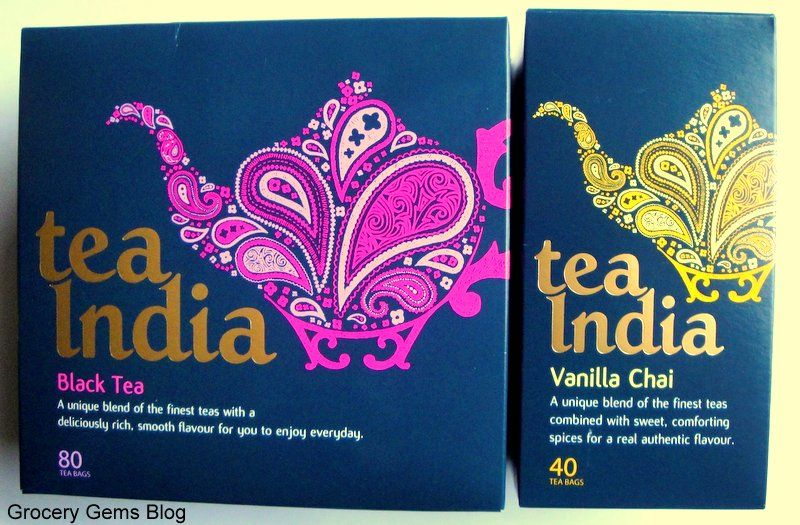 Tea India - Black Tea & Vanilla Chai