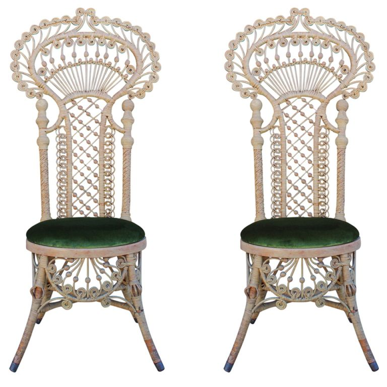 Antique Victorian Wicker Chairs 1stdibs Com Victorian Wicker Antique Wicker Wicker Chairs