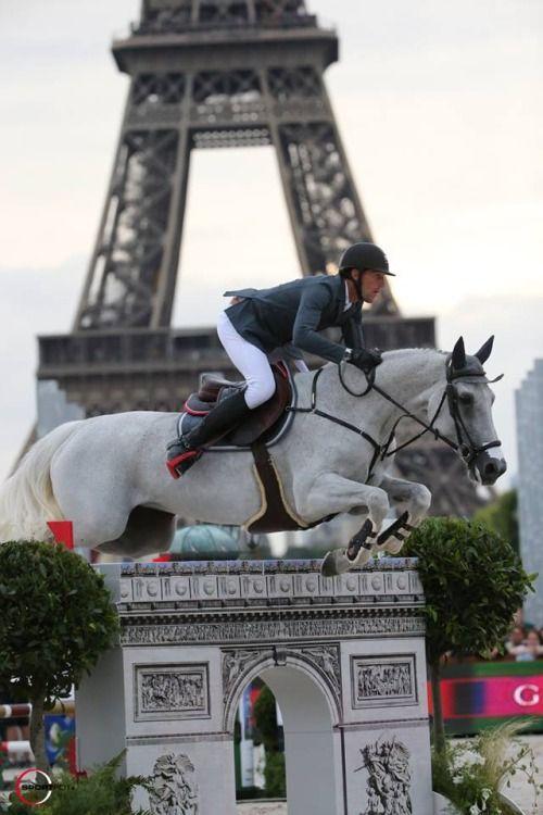 Kevin Staut & Silvana - LONGINES Global Champions Tour du Paris Eiffel Jumping présenté par Gucci.