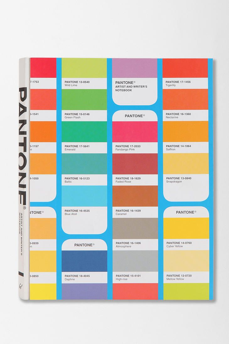 #Pantone Artist & Writer's Notebook
