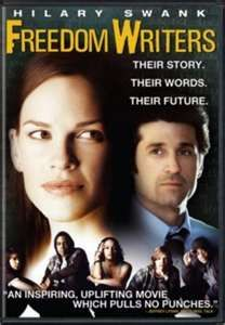 Overcoming Odds Prejudice Potential Based On The Powerful True Story Of Erin Gruwell Watch Freedom Writers Movie Freedom Writers Inspirational Movies