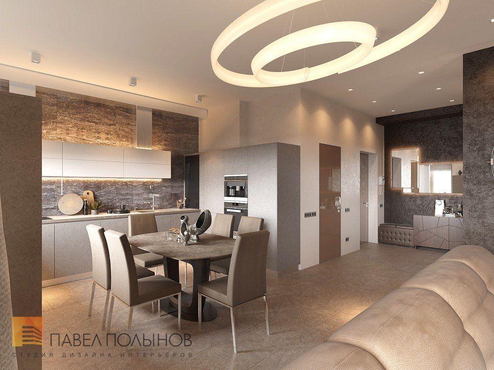 Фото: Дизайн кухни-гостиной - Интерьер квартиры в стиле ...