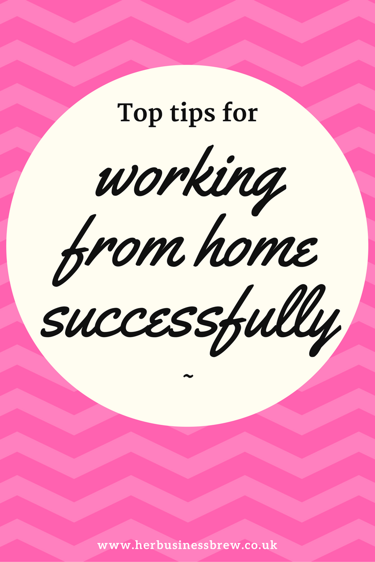 Top tips to working from home successfully