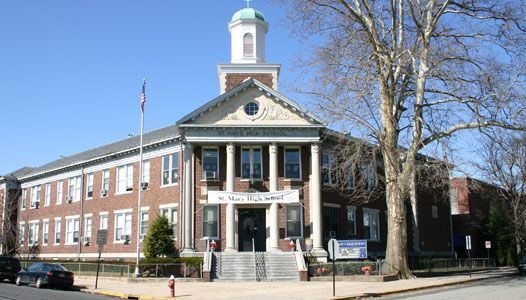 Saint Mary High School, located in Rutherford, New Jersey, is a  coeducational, Middle States accredited institution.