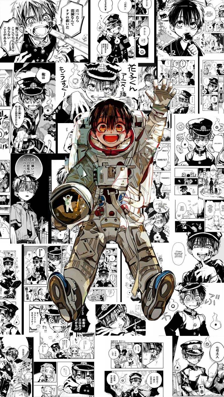 Astronaut Hanako Kun Wallpaper Dark Anime Anime Wall Art Hanako
