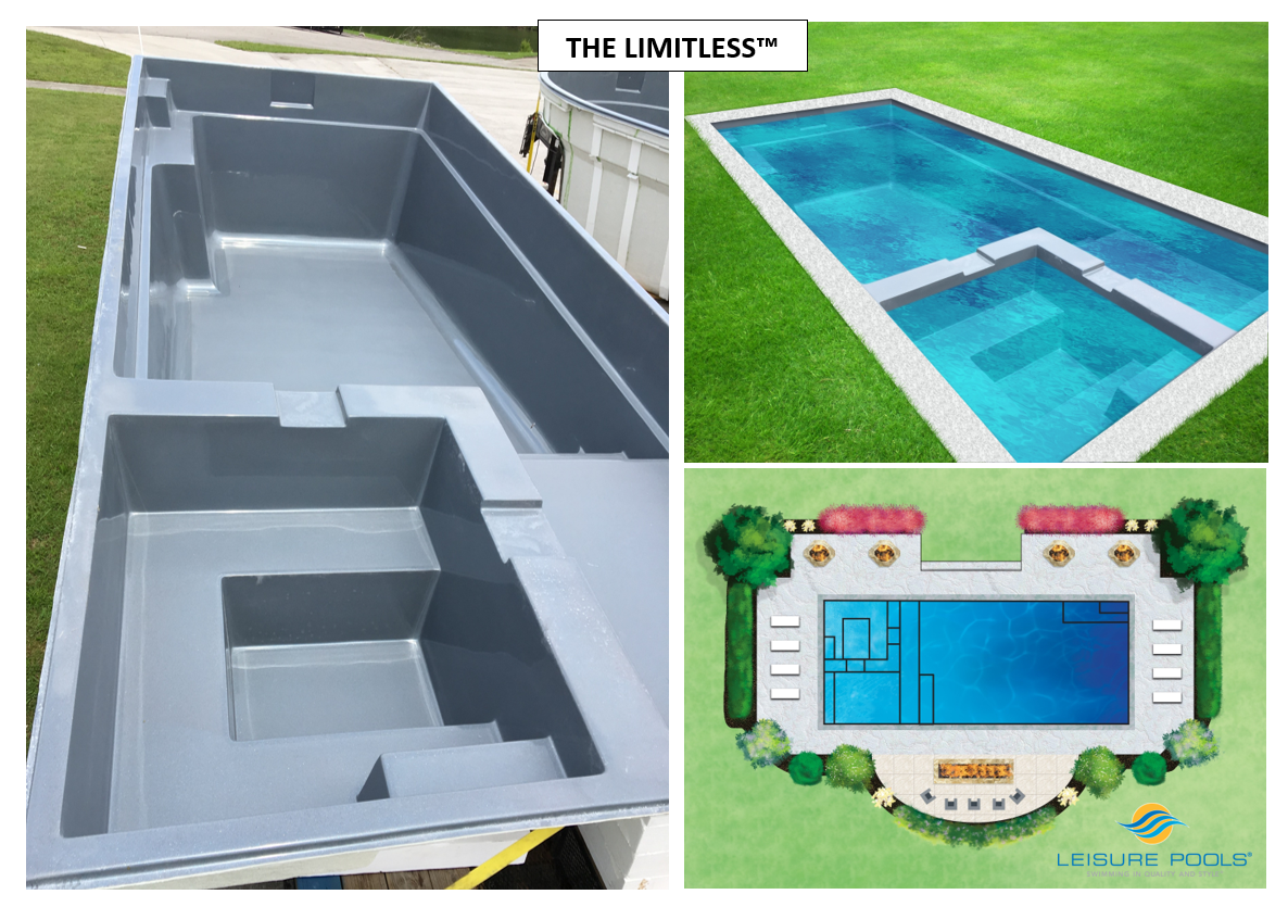 One Of Our Newest Pool Designs Is The Limitless Tm With