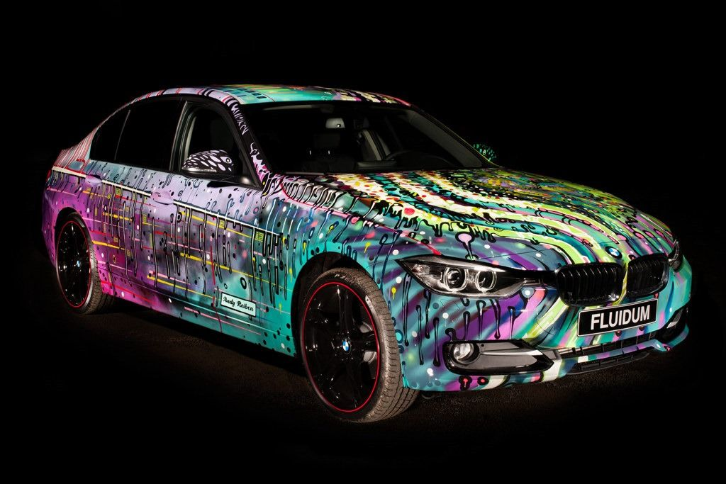 Glow in the dark bmw 3 series light up style pinterest bmw over the years bmw created 17 art car projects starting with the 1975 csl made by alexander calder even though this is not an official bmw art car yet sciox Image collections