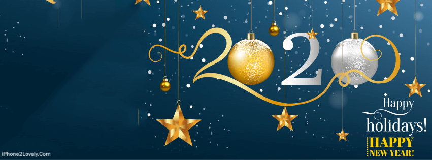 25 Happy New Year 2020 Facebook Timeline Covers to Wish