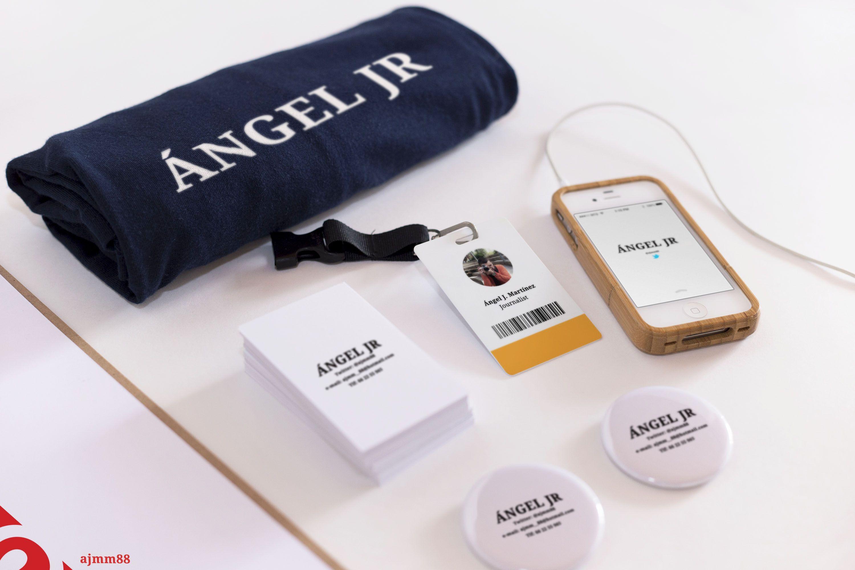 Ángel JR (camiseta, tarjeta, móvil, chapas, etc) | Design ...