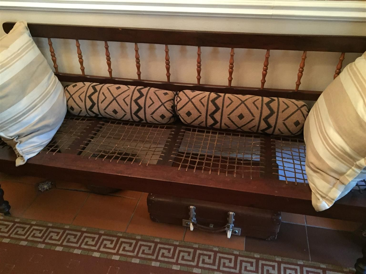 Riempie bank.   Furniture, Antique furniture, Antique ...
